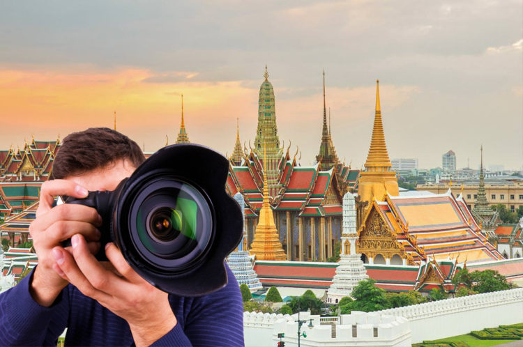 Professional photography service at Grand Palace in BKK