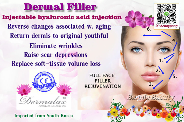 Give natural appearance and replace soft-tissue volume loss