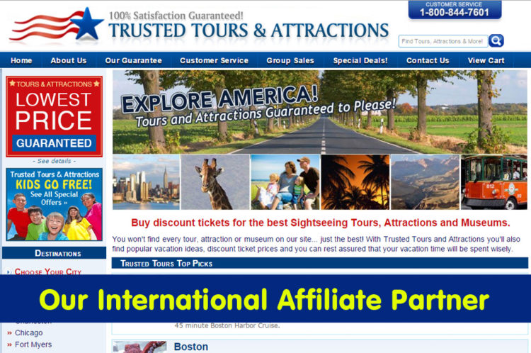Explore America! Buy discount tickets Best Sightseeing Tours.
