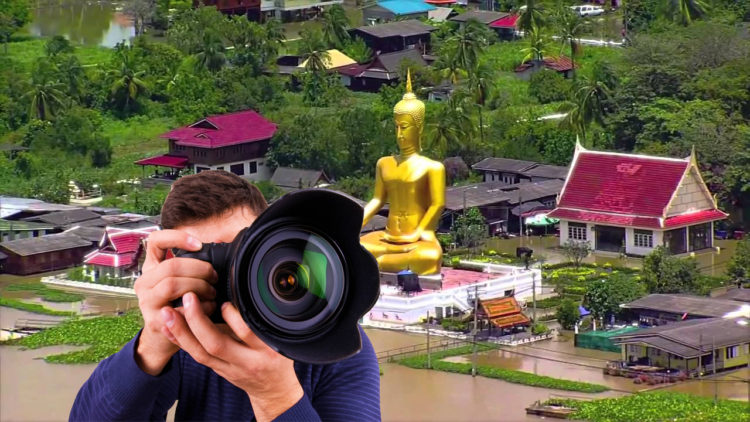 Professional photography service at Ko Kret island