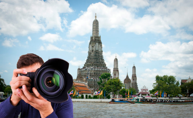 Photography service at Wat Arun and Wat Pho