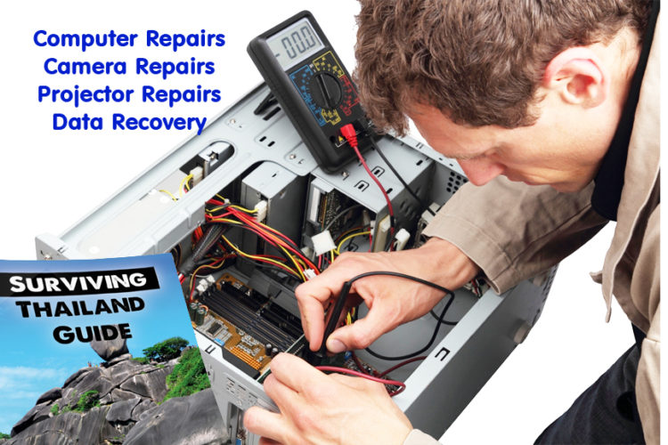 Get Your Computer Repaired in Bangkok