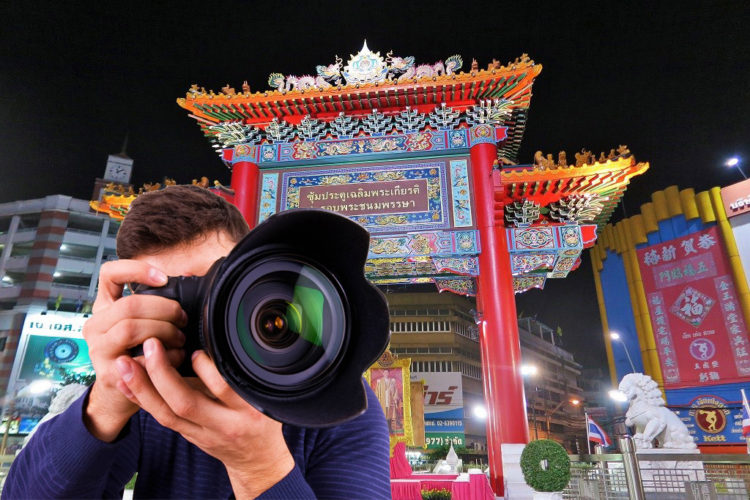 Photography service at China Town